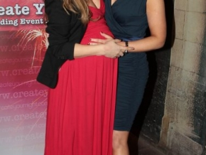 Leigh Arnold and Claire Malone at The 3rd Birthday of Create yournight.com at Lillies Bordello DublinPic: Brian McEvoy